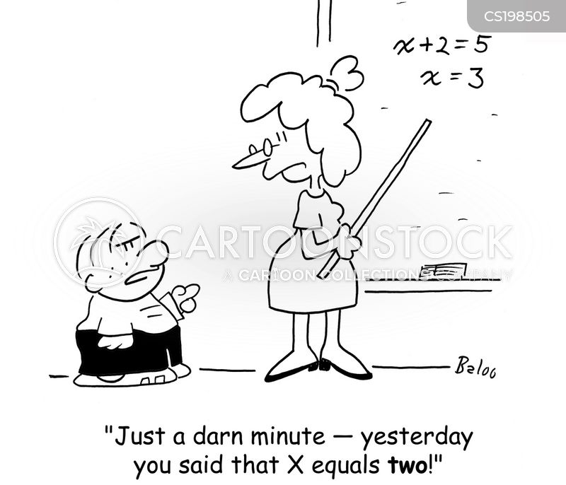 algebra lessons cartoons and comics funny pictures from cartoonstock algebra lessons cartoon 2 of 3