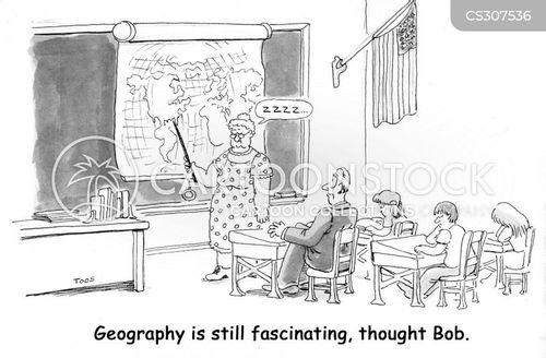 geography teacher cartoon