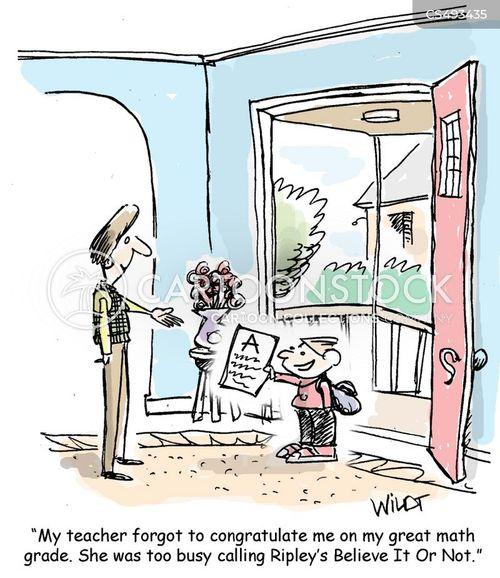 math exams cartoon