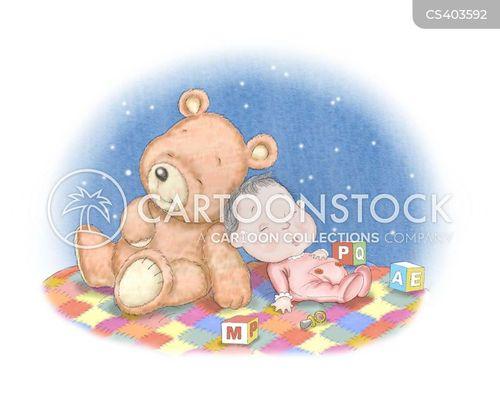 cuddly bear cartoon