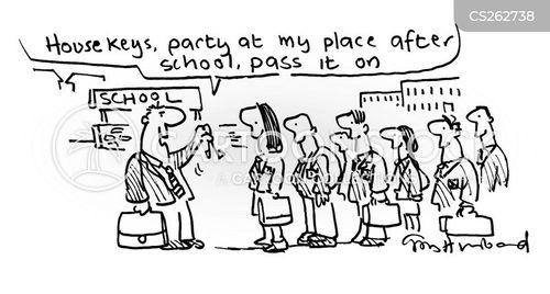 teenage daughters cartoon