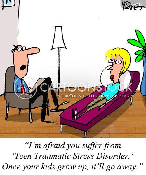 traumas cartoon