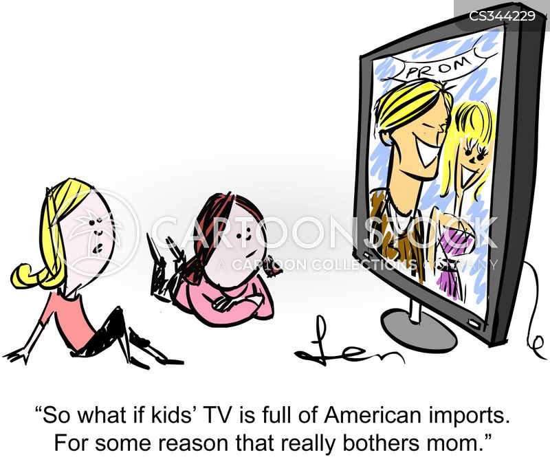 American Tv cartoons, American Tv cartoon, funny, American Tv picture, American Tv pictures, American Tv image, American Tv images, American Tv illustration, American Tv illustrations
