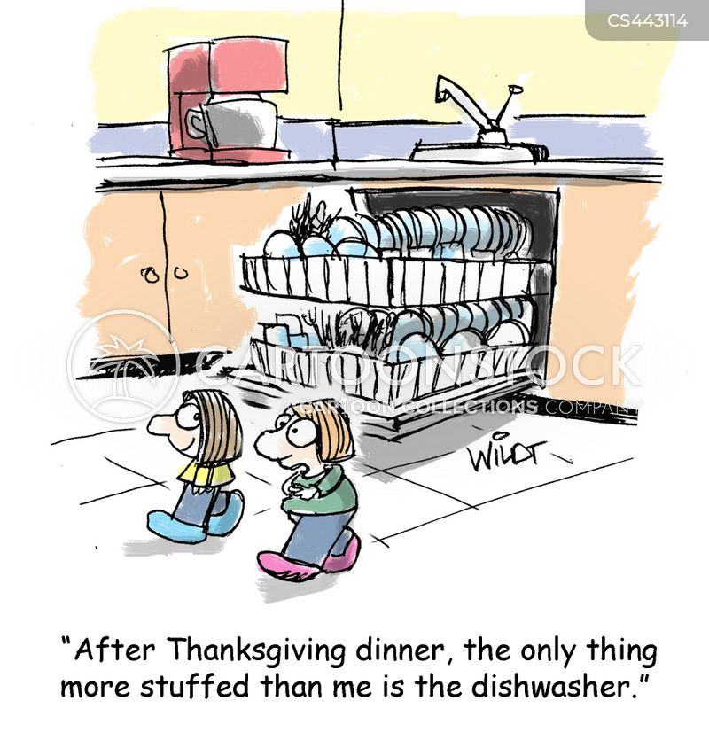 Kitchen Clean Up Cartoon: Kitchen Chore Cartoons And Comics