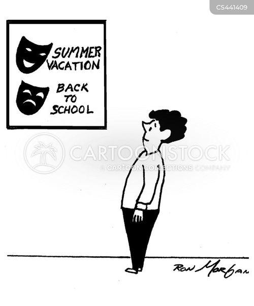 theatre mask cartoon