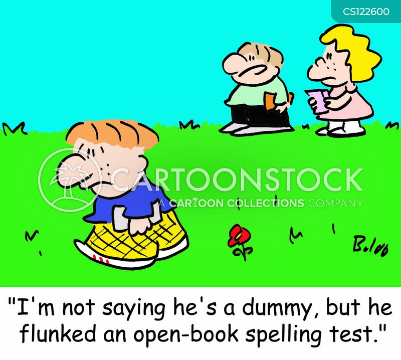 Captivating Open Book Spelling Test Cartoons, Open Book Spelling Test Cartoon, Funny,