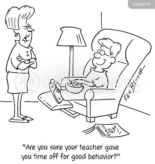 good behavior cartoon