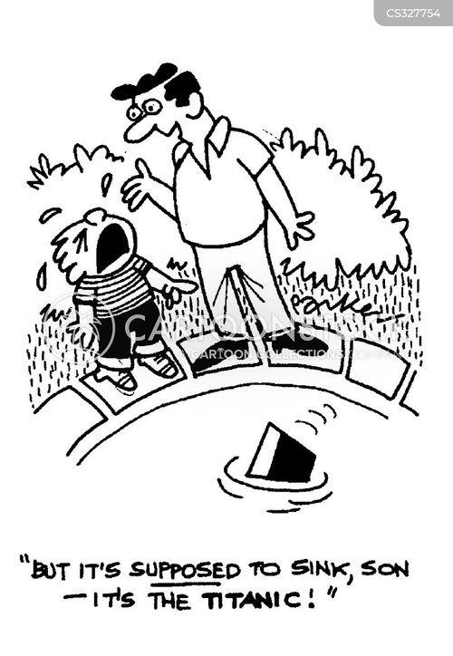 capsizes cartoon
