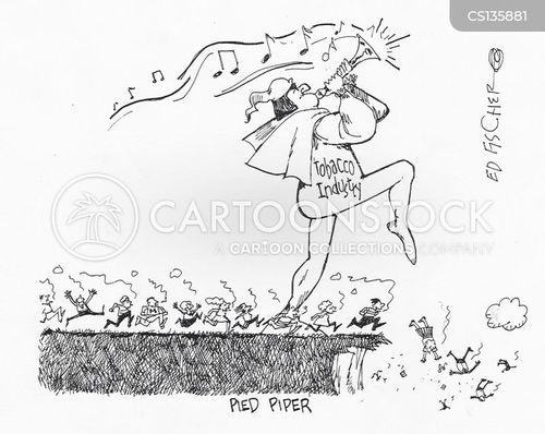 tobacco industries cartoon