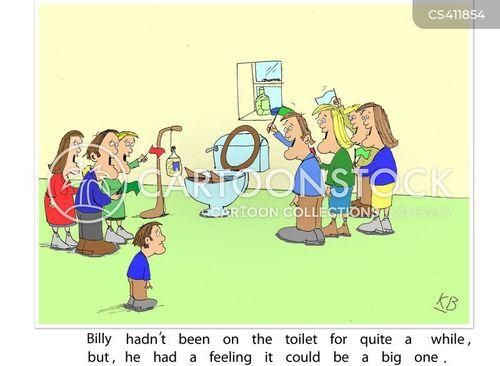 bowel movements cartoon