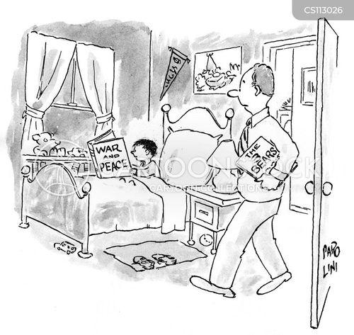 tolstoy cartoon