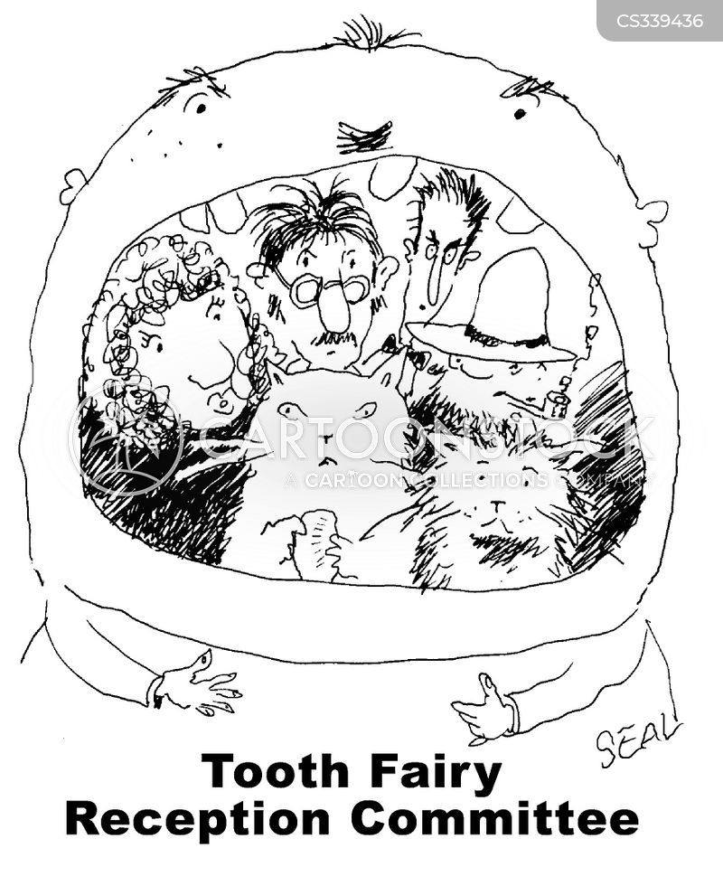 Milk Teeth Cartoons and Comics - funny pictures from CartoonStock