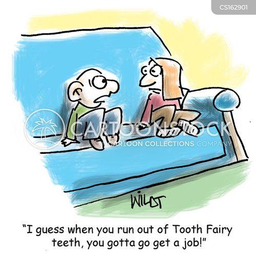 baby teeth cartoon