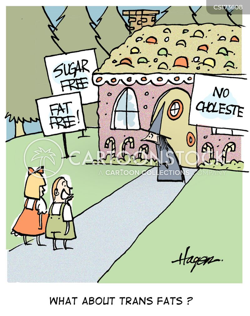 cholesterol cartoon