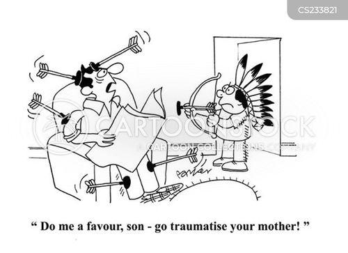 traumatise cartoon