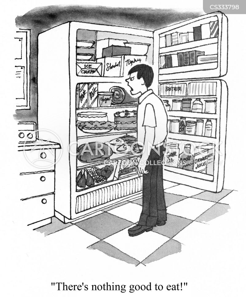 nothing to eat cartoon