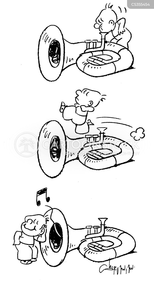 clarinets cartoon