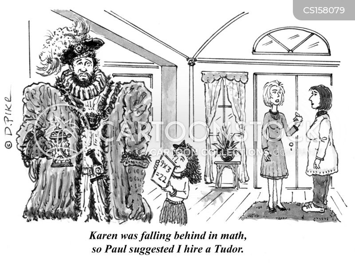 math tutor cartoon