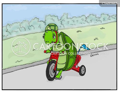 bike helmet cartoon