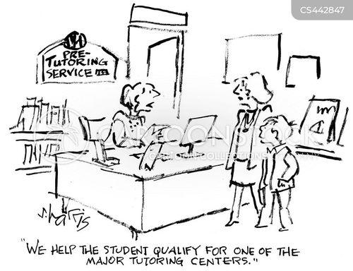 tutoring cartoon