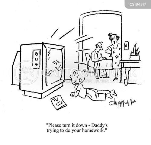 tele cartoon