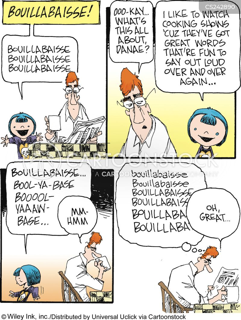 bouillabaisse cartoon