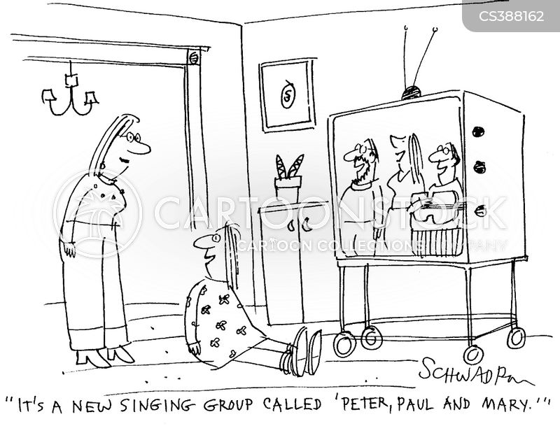 peter paul and mary cartoon