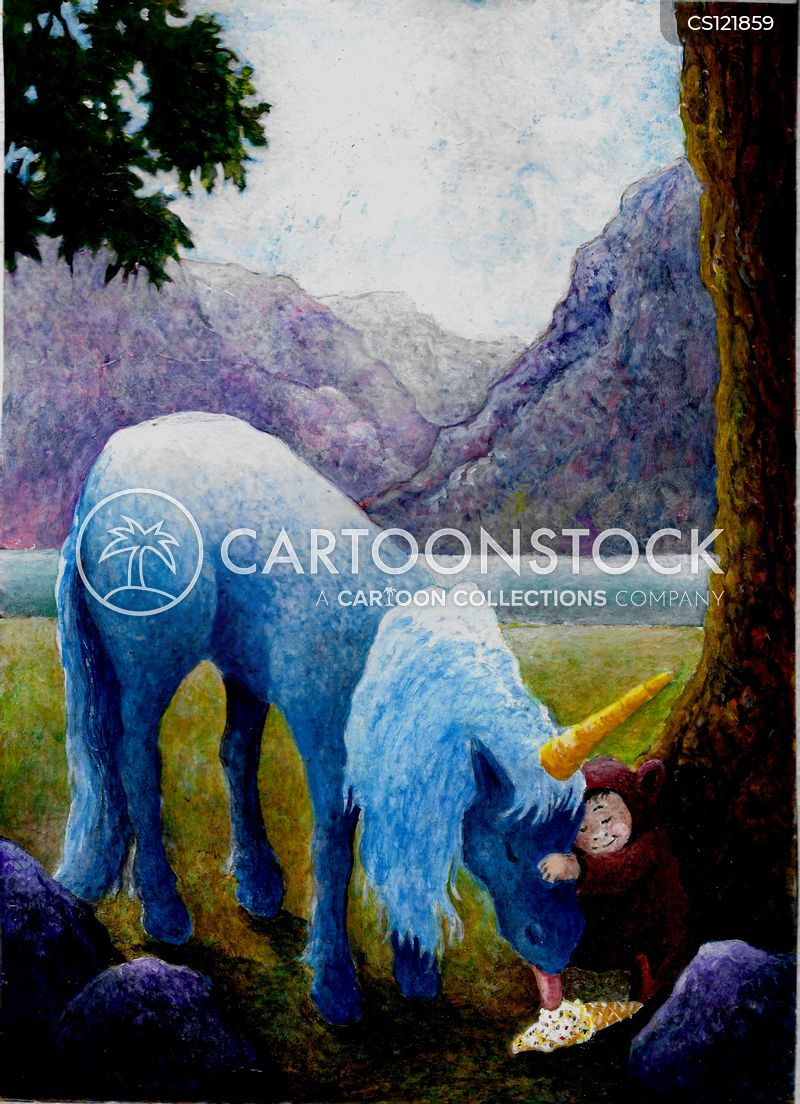mythical animals cartoon
