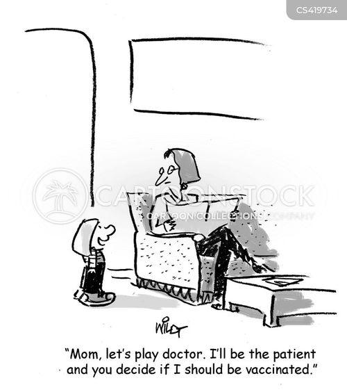 vaccinated cartoon