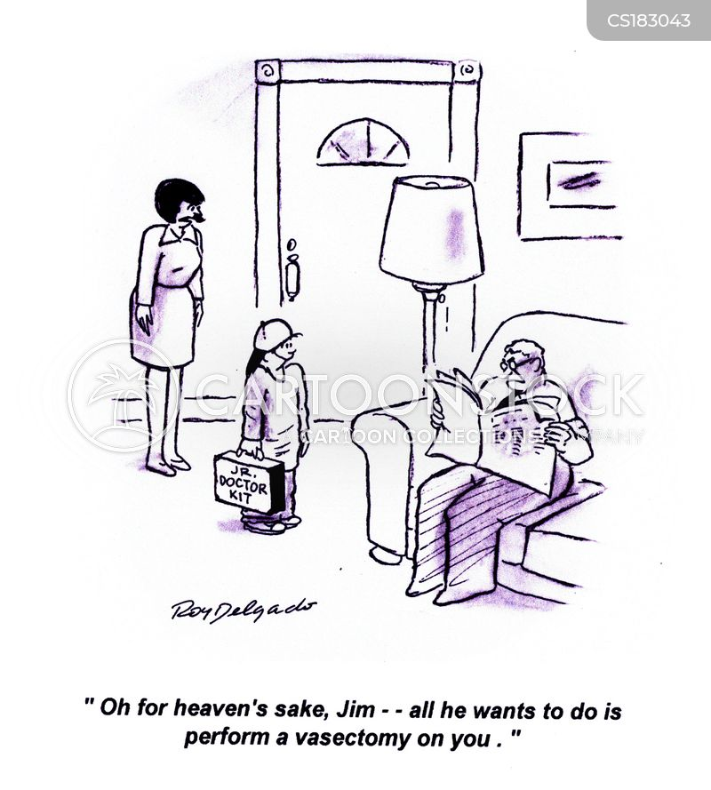 vasectomy cartoon