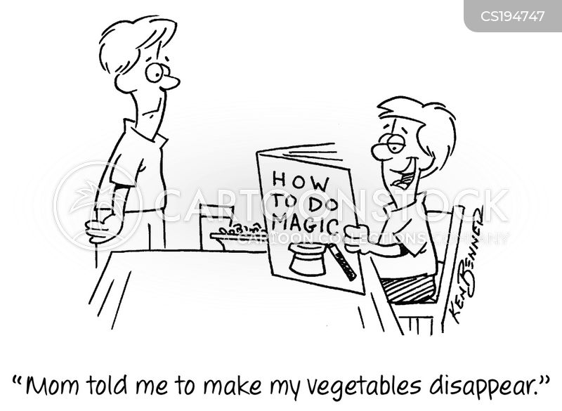 balanced diets cartoon