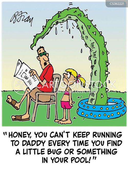 wading pools cartoon