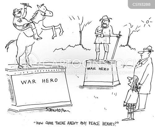 war and peace cartoon