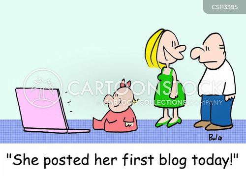 internet blogs cartoon