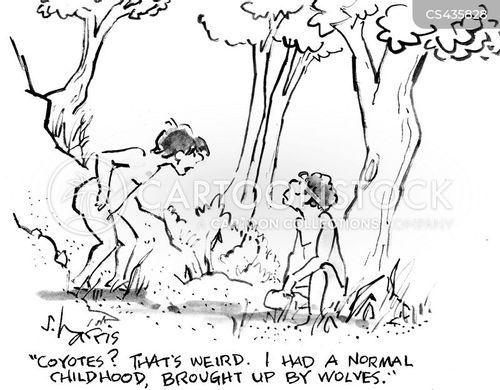 wild children cartoon