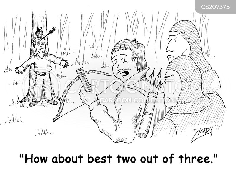 crossbow cartoon