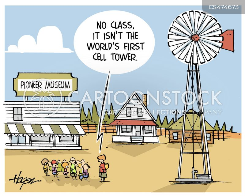 cell tower cartoon