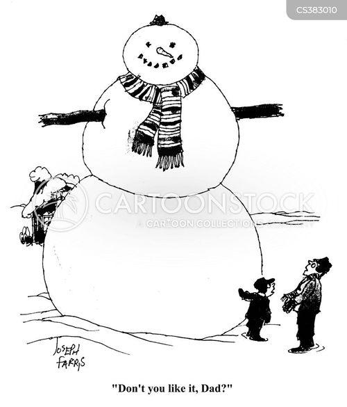 scarfs cartoon