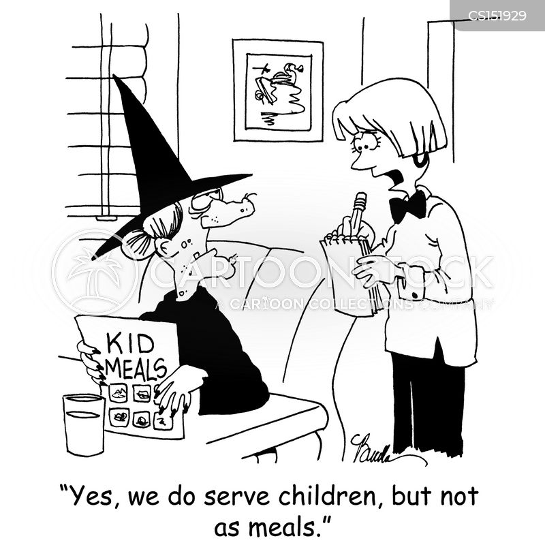Kids Menus Cartoons And Comics  Funny Pictures From Cartoonstock
