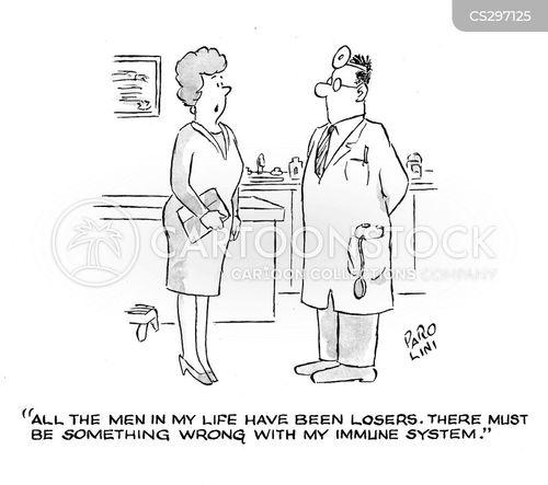 immune cartoon