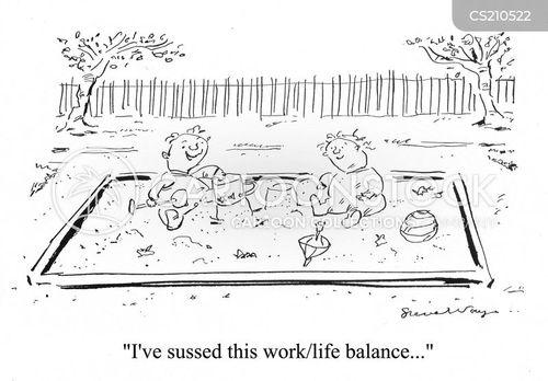 worklife balance cartoon