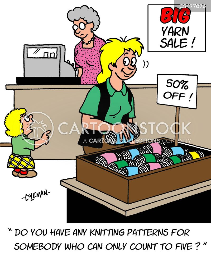 Knitting Shop Cartoons And Comics Funny Pictures From Cartoonstock