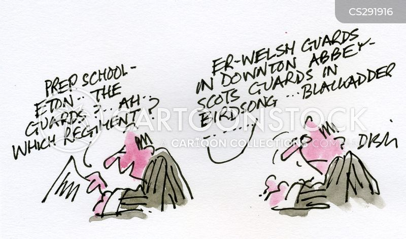 prep school cartoon