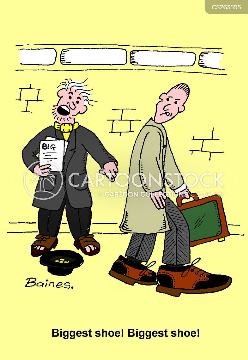 big issues cartoon