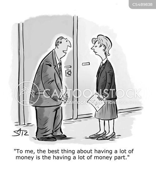 wealth inequalities cartoon