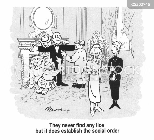 social order cartoon