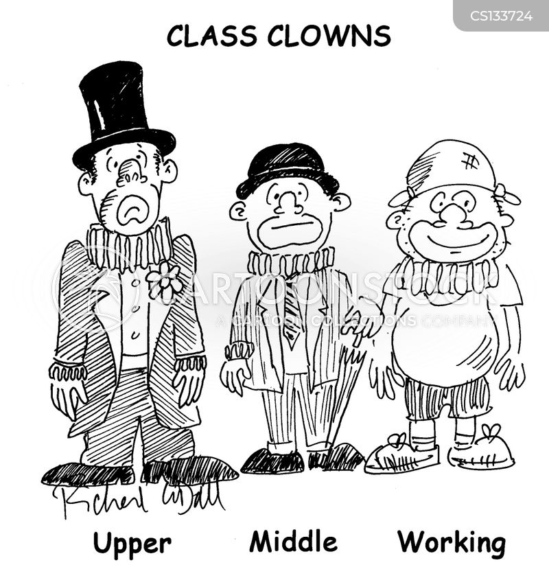 social classes cartoon