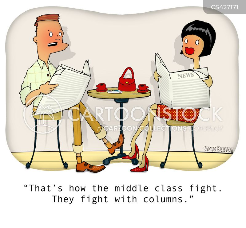 class conflicts cartoon
