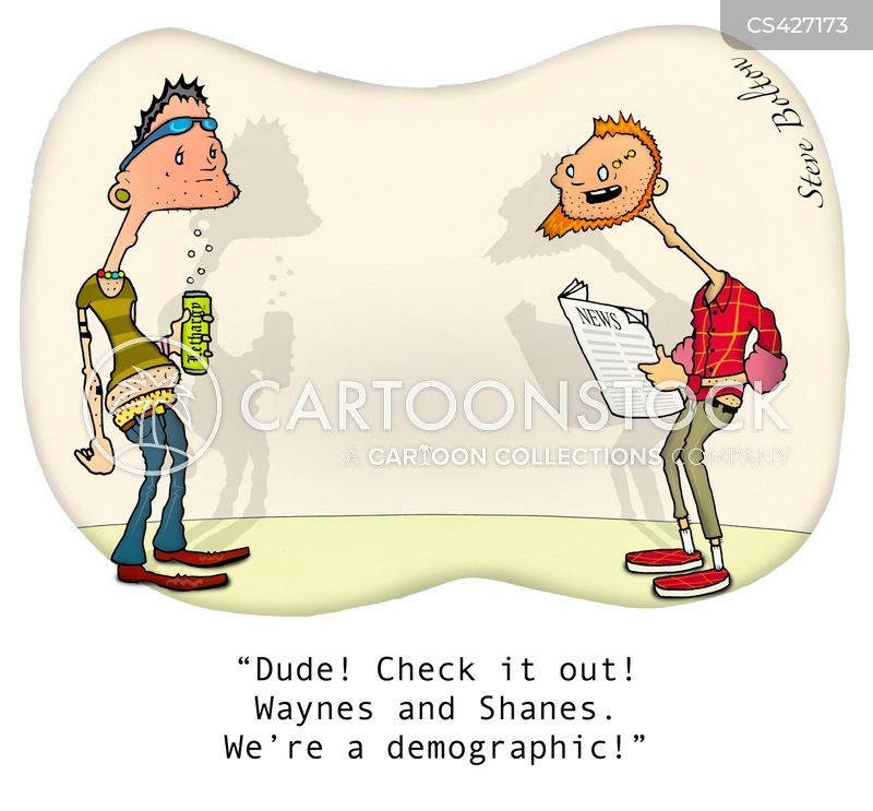 social group cartoon