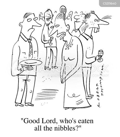 uninvited guests cartoon